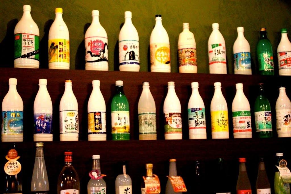 Alcools les plus populaires en Corée