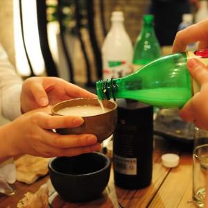 Règle de politesse pour boire en Corée