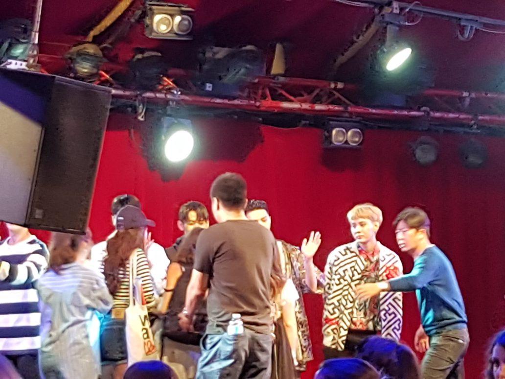 Concert MYNAME Paris - Meet & Greet