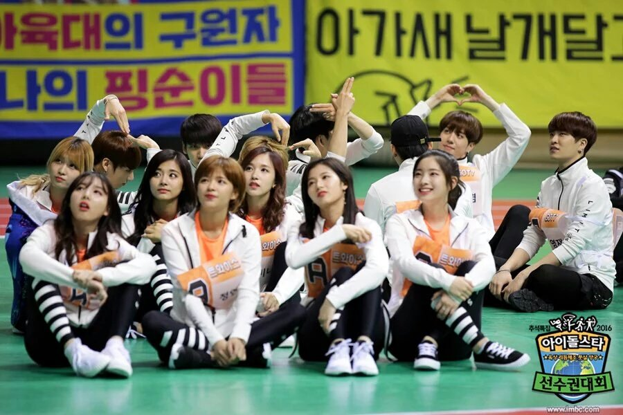 Idol Star Athletics Championships - Twice