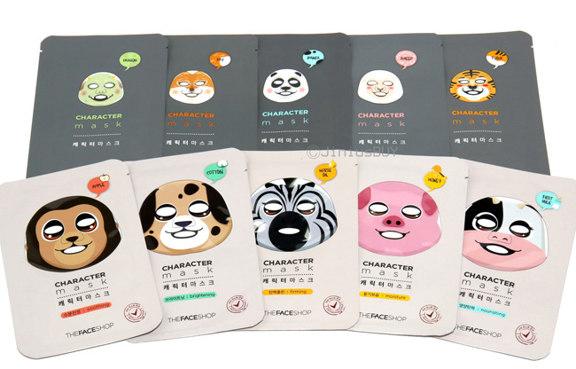 Layering, Corée, The Face Shop, masques, sheet mask
