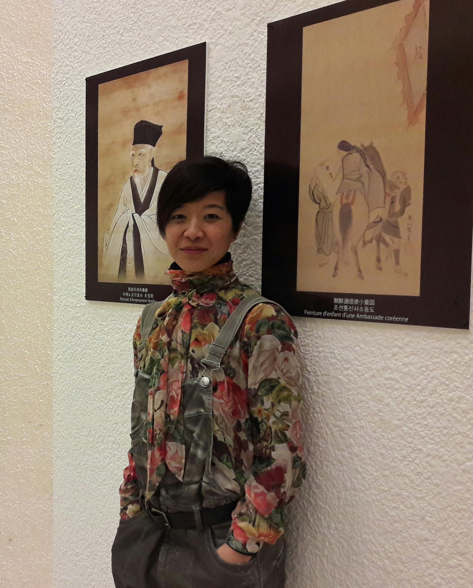Léna, coréenne adoptée