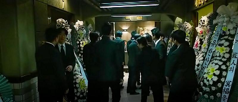 Extrait du film «Asura, the city of madness». Exemple de gouk-hoa, ces compositions florales verticales