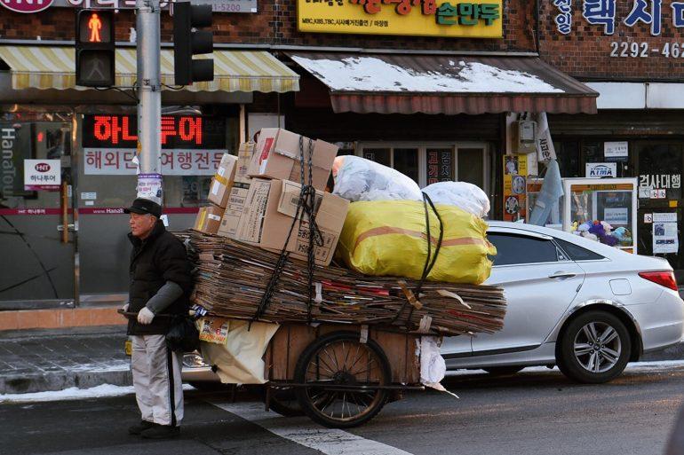 Génération oubliée, les retraités en Corée du Sud