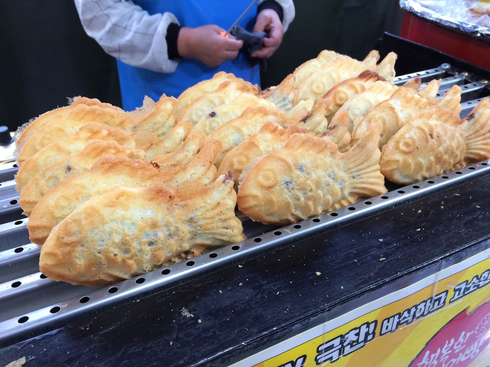 Street food coréenne - Bungeoppang