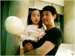 Yiruma et sa fille