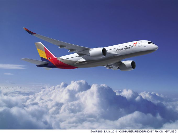 Compagnies d'avions - Asiana Airlines