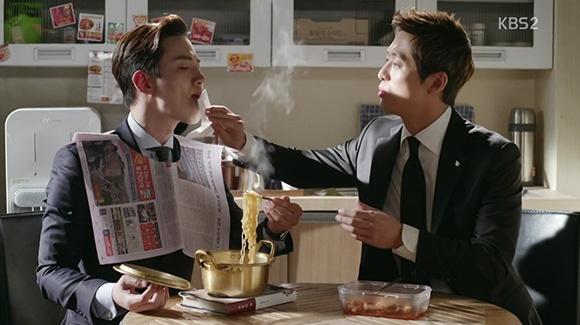 Découvertes TV-Ciné - Juillet - Chief Kim - Nam Koong Min et Lee Jun Ho