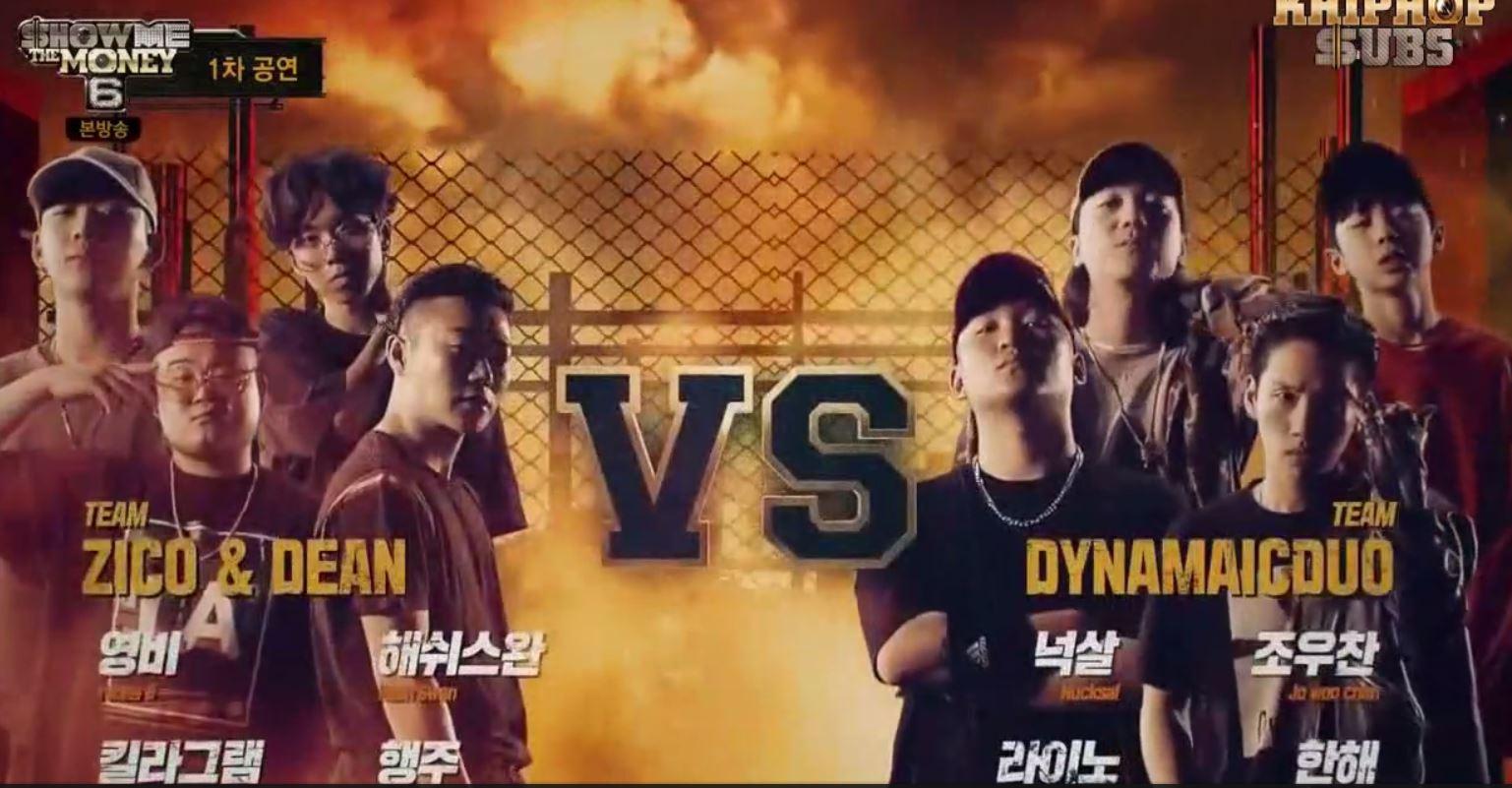 Team Zico Dean vs Team Dynamic Duo