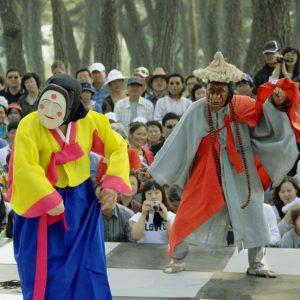 Danse des masques