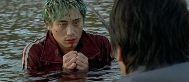Sympathy for Mr Vengeance- scène 2