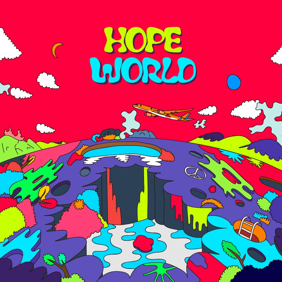 j-hope mixtape Hope World cover