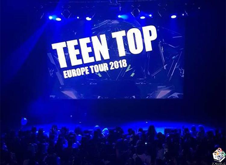 Teen Top Concert Paris K.Owls