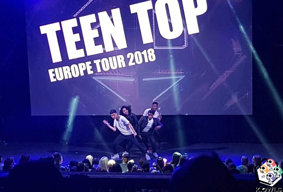 Teen Top Concert Paris K.Owls HYEONAEGIE