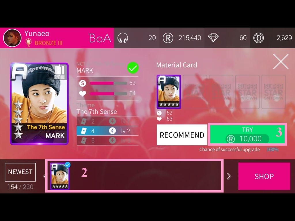 Superstar SMTown - Captures d'écran