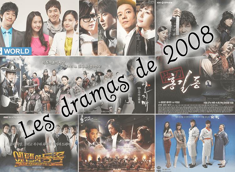 Zoom sur les dramas de 2008
