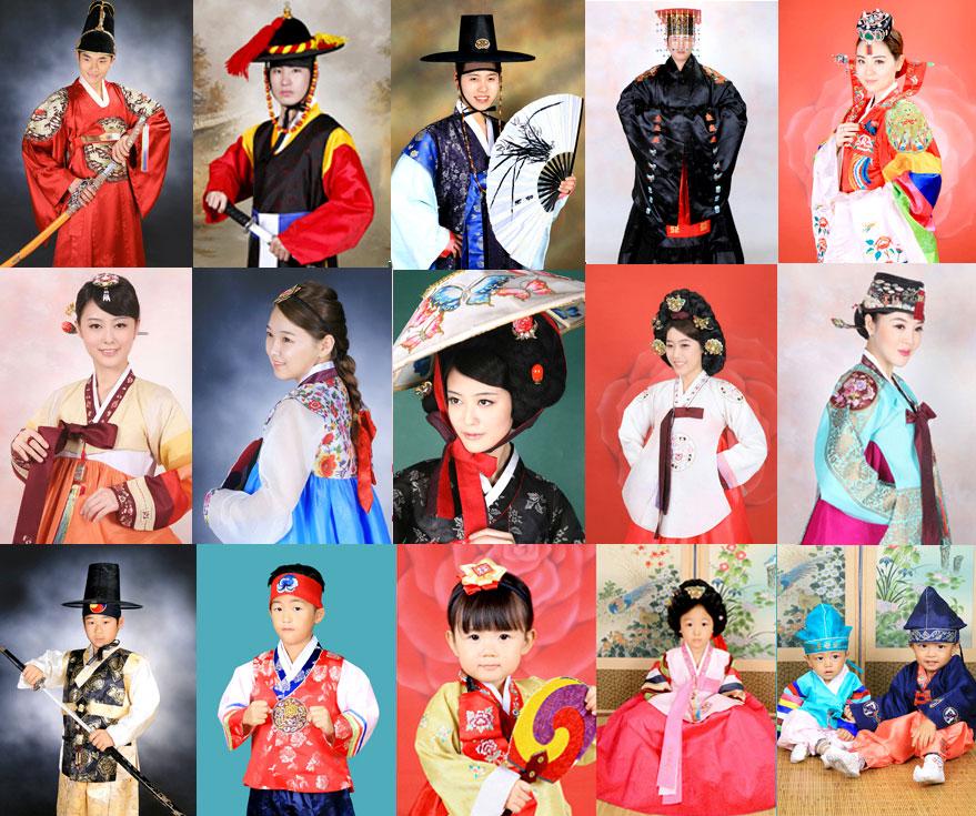 Les hanbok du studio Go Guan