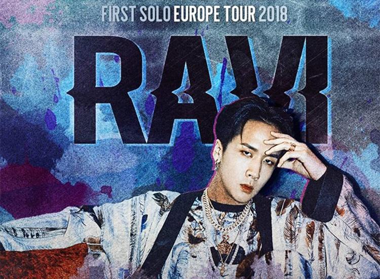 Ravi (VIXX) Tournée Européenne