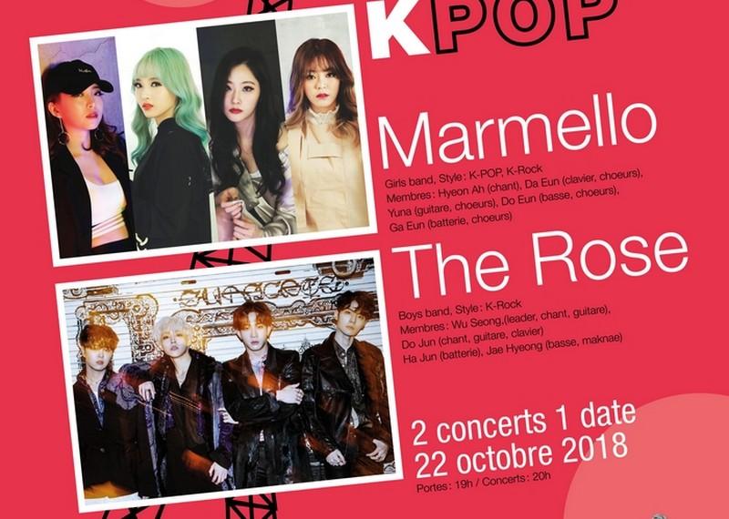 Marmello & The Rose à Paris