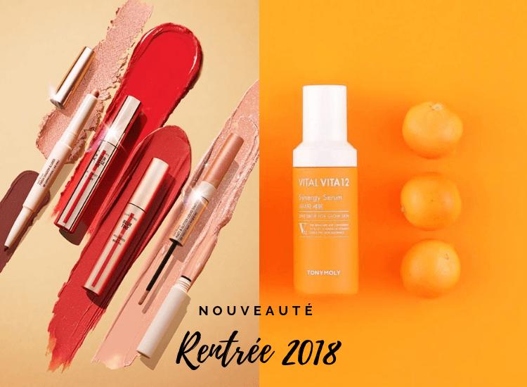 rentrée k-beauty 2018