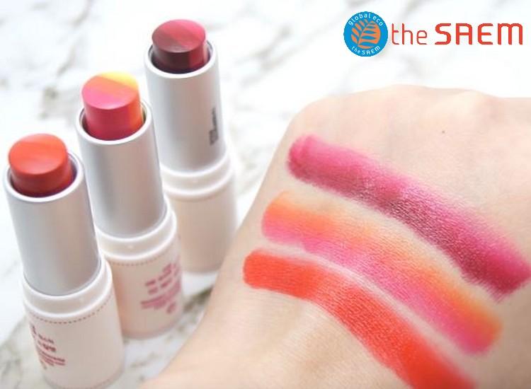 Saemmul Triple Lipstick