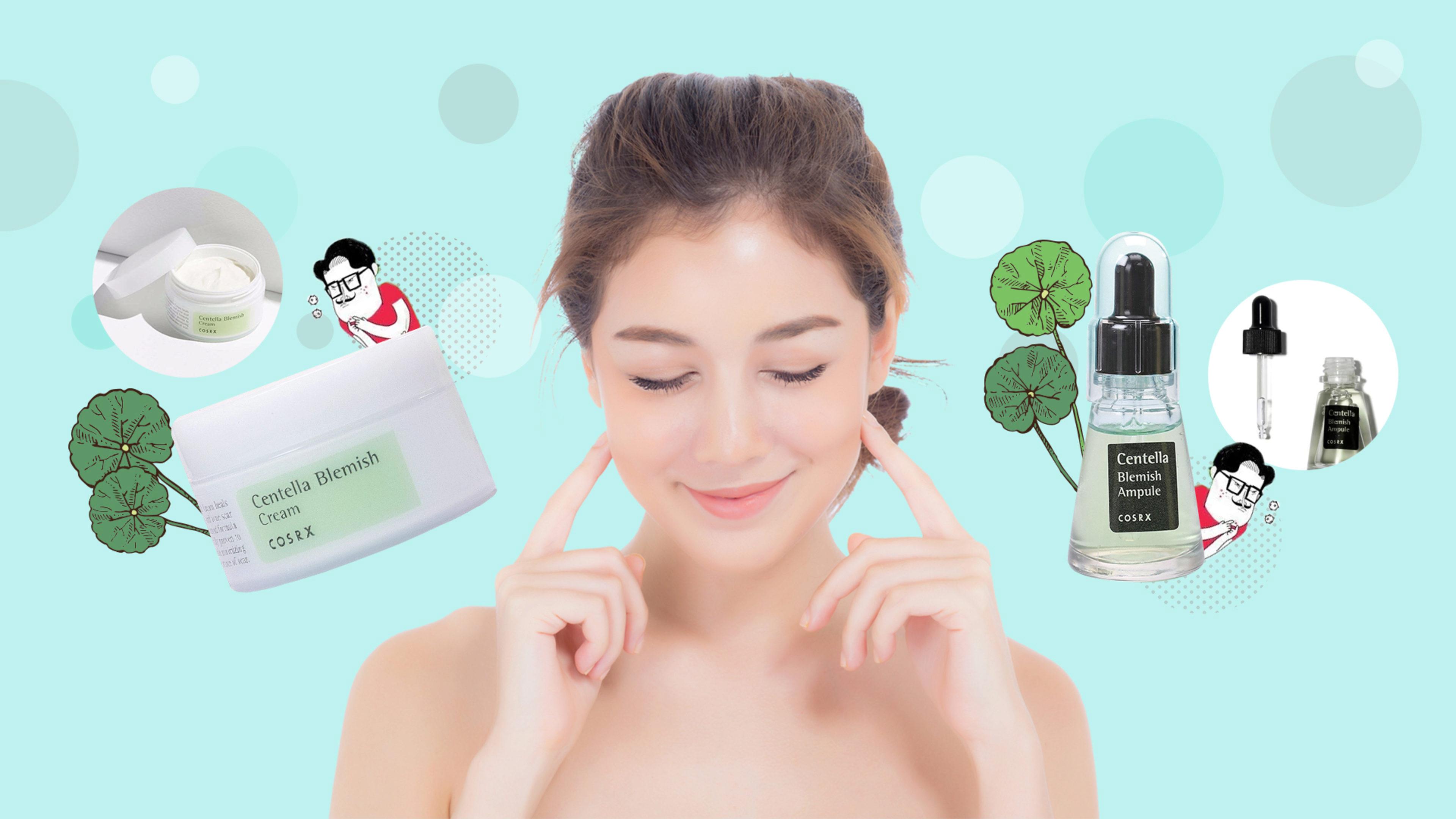 Centella Asiatica Skincare