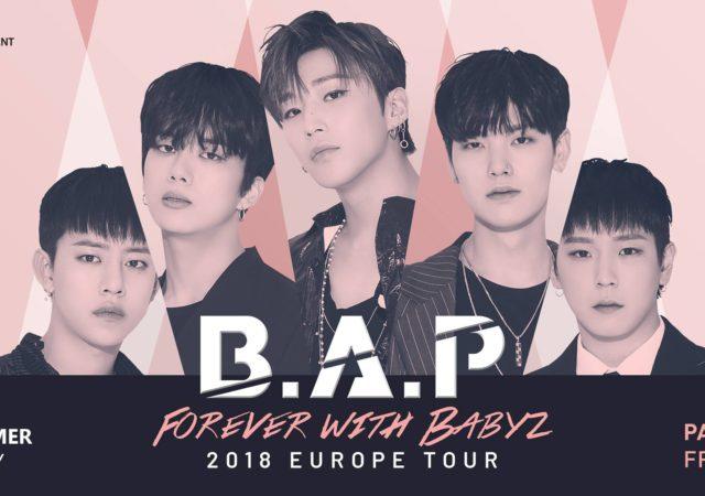 B.A.P revient en France pour la troisième fois