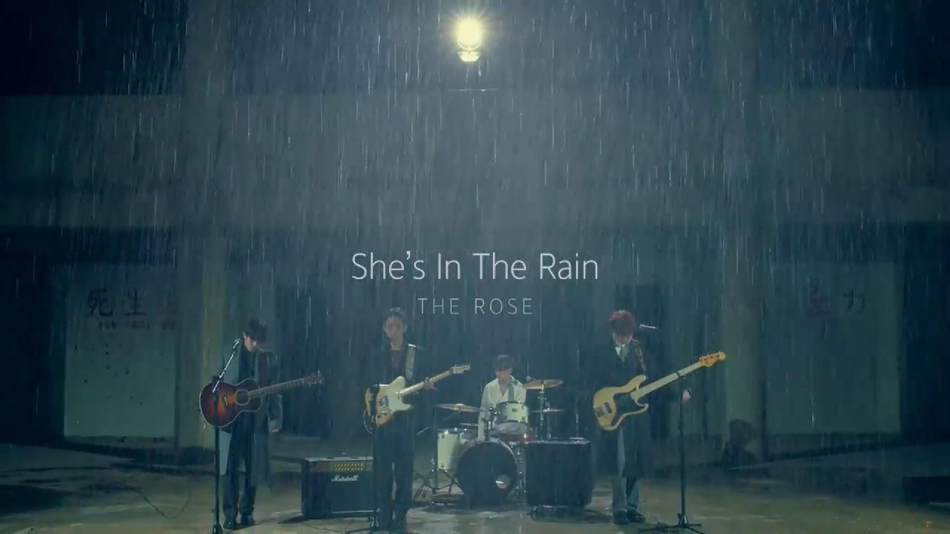 The Rose She's In The Rain clip