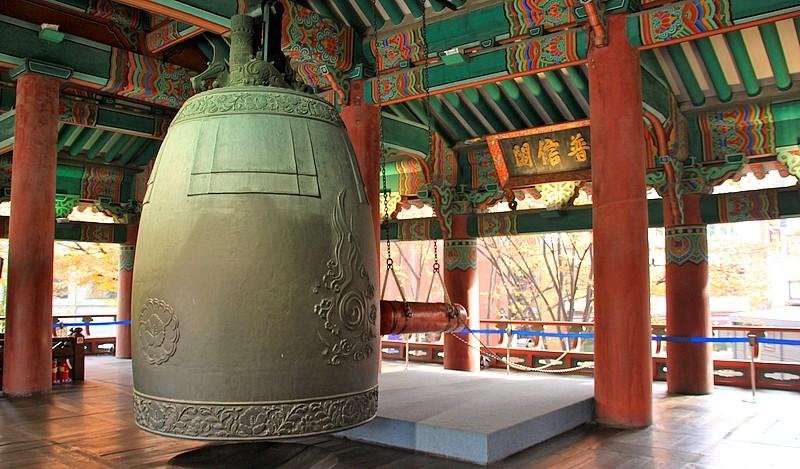 nouvel an à Séoul - Cloche de Bosingak