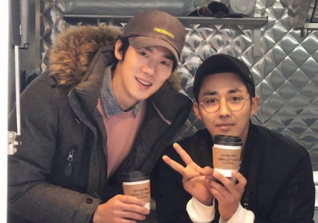 Coffee Friends - Yoo Yeon Seok - Son Ho Jun