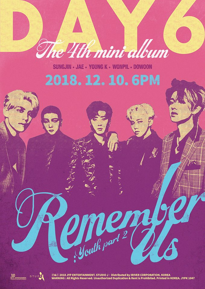 DAY6 Remember Us Art Poster