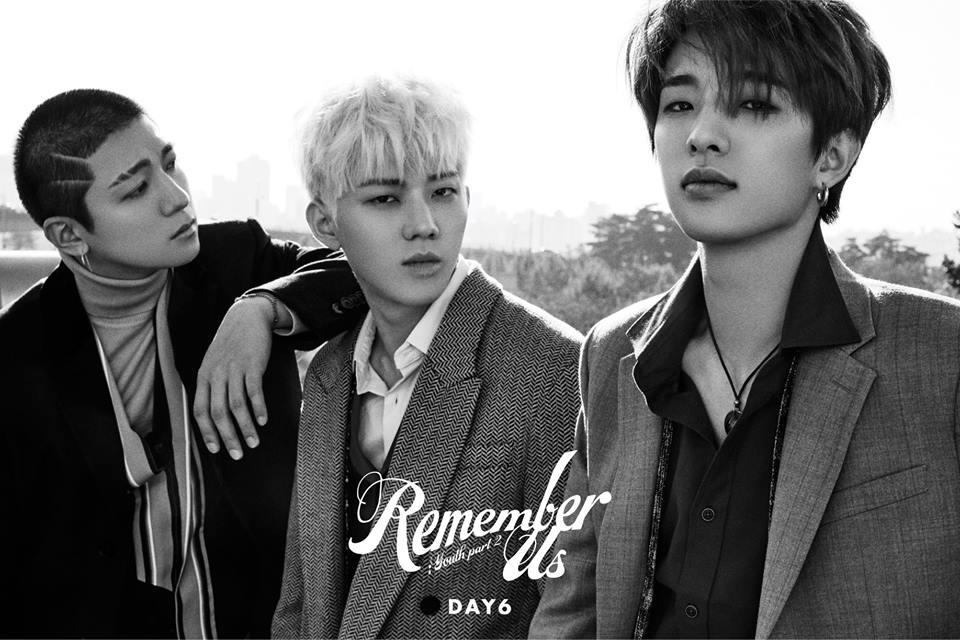 DAY6 Remember Us Unit Teaser Image Jae, Do Woon et Sung Jin
