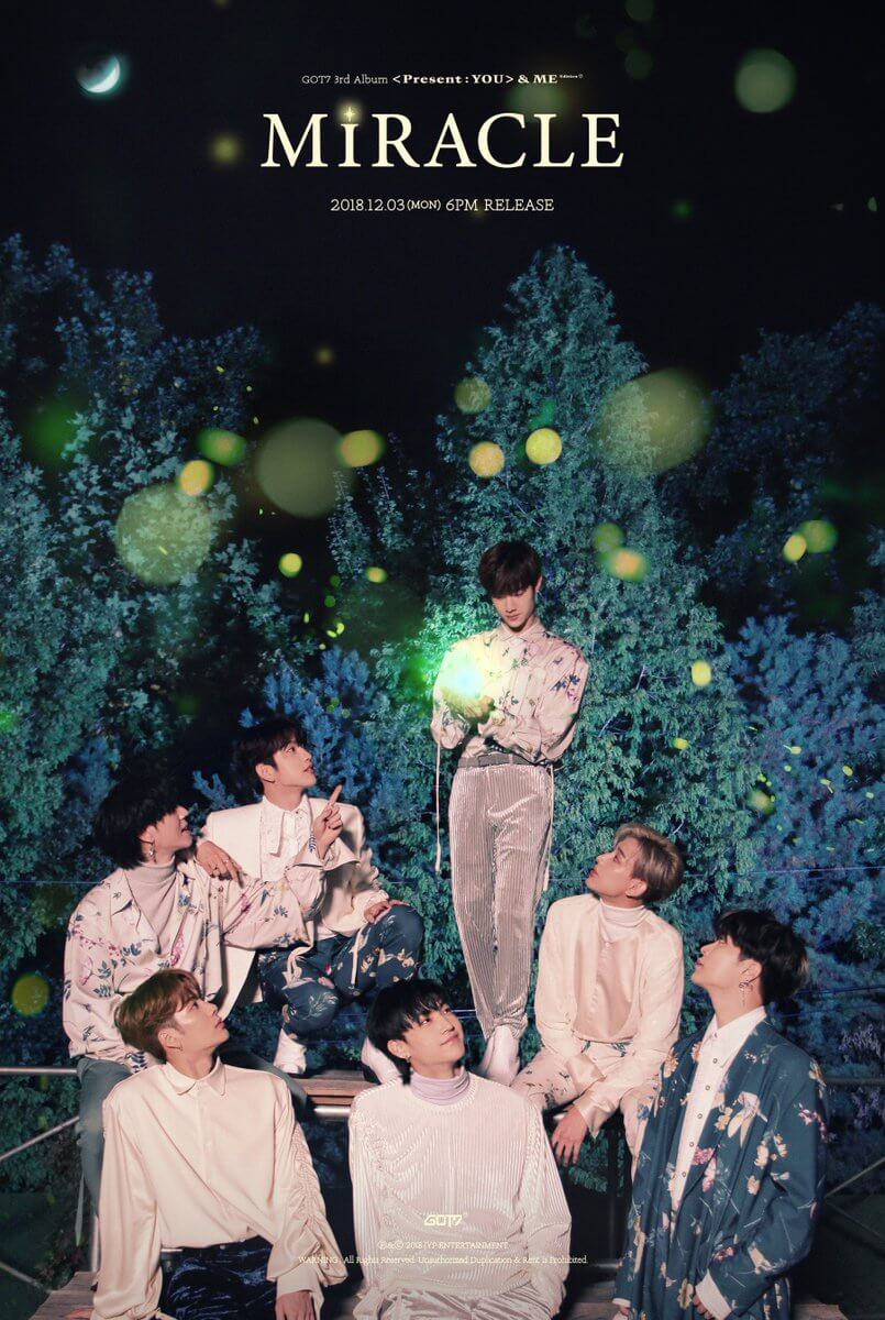 GOT 7 Official photo Miracle
