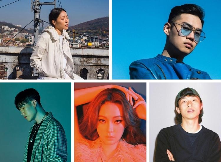 Top 5 des artistes R'n'B coréens
