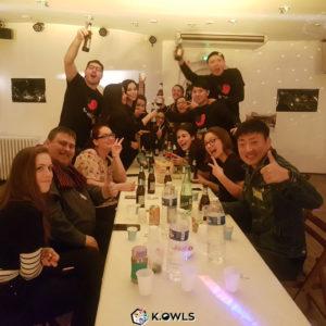 Week-end franco-coréen à Lyon avec AC-inKAS FR et KOWLS