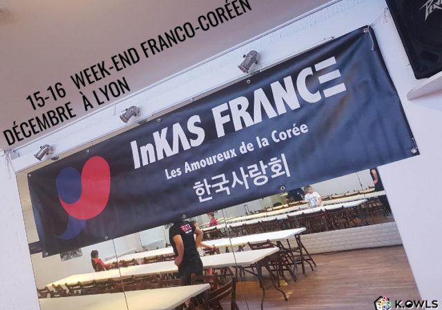 Week-end franco-coréen à Lyon avec AC-inKAS FR