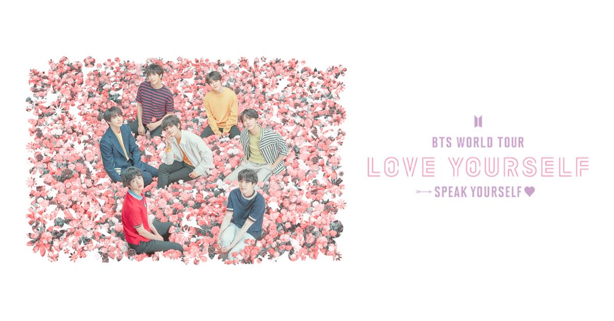 BTS Love Yourself Speak Yourself concert