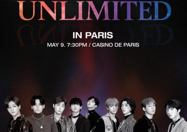 SF9 UNLIMITED concert paris