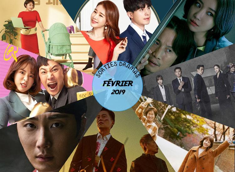 Sorties dramas Février 2019