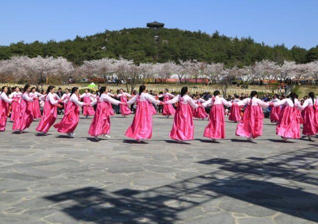 Honneur au docteur Wangin à Yeongam en avril