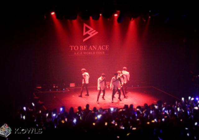 A.C.E concert Paris