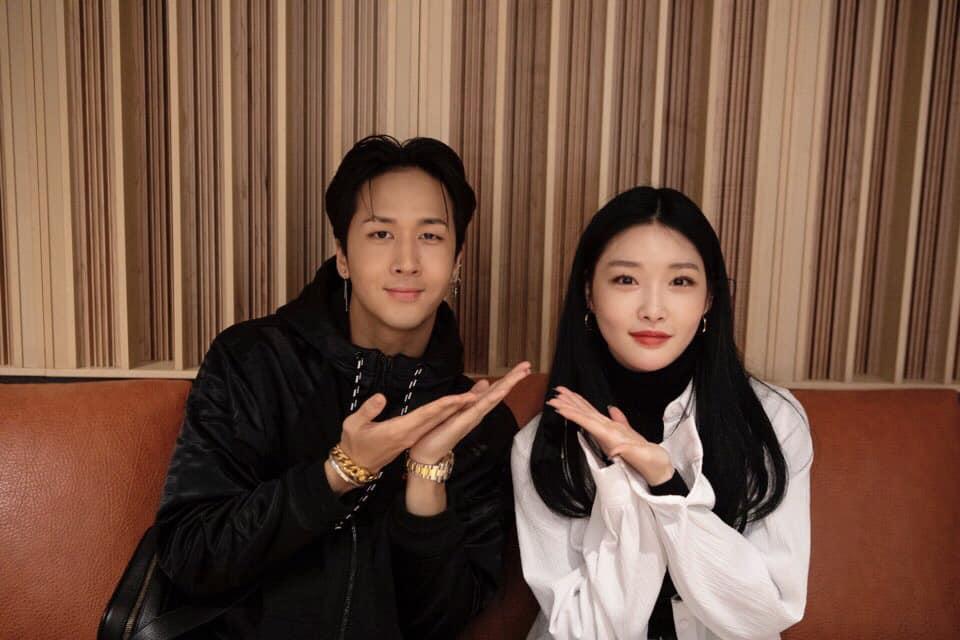 Ravi et Chung Ha