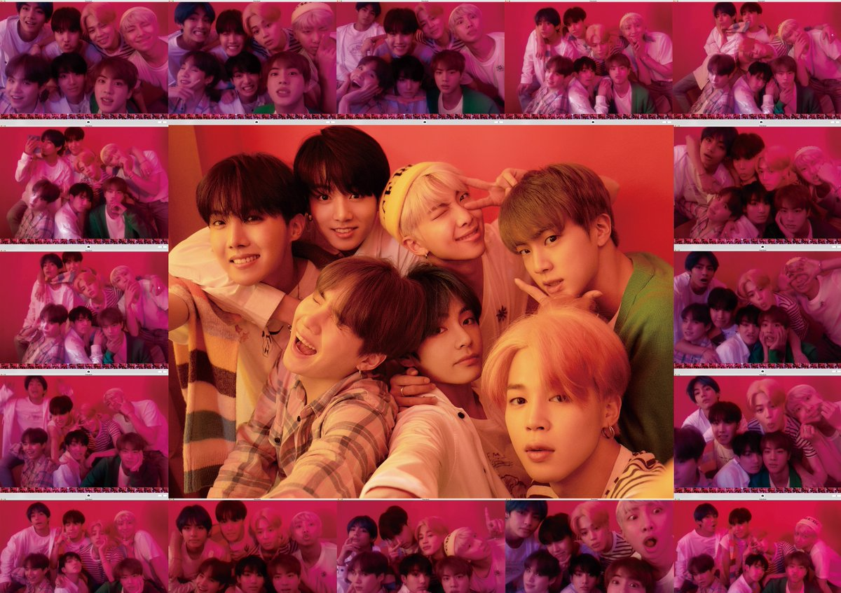 BTS Map Of The Soul Persona Concept 1