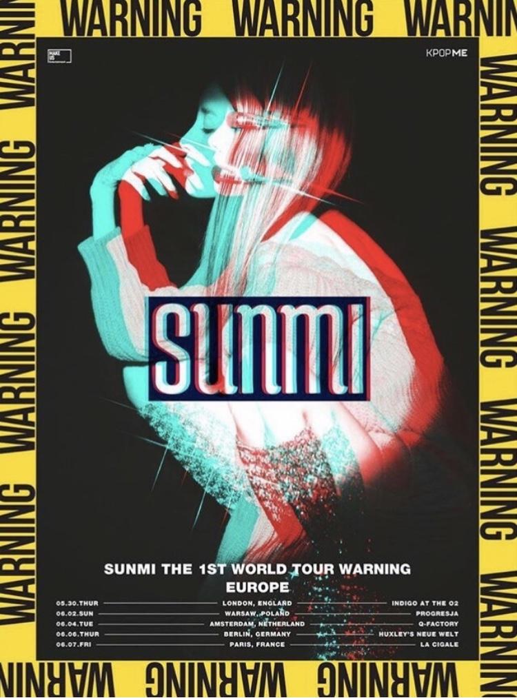 Sun Mi concert