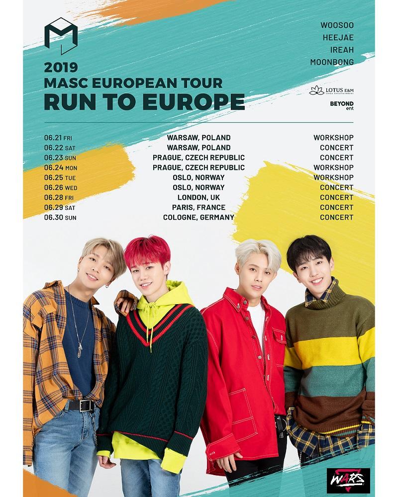 MASC Run To Europe