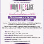 BTS Burn The Stage INFO