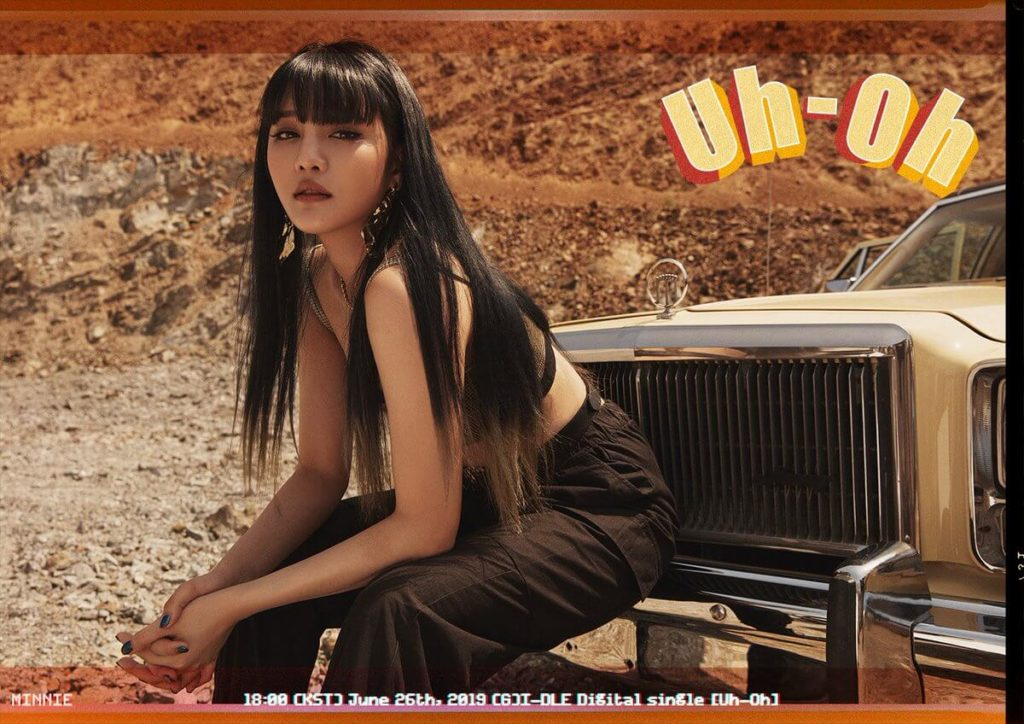 (g)i-dle uh-oh minnie