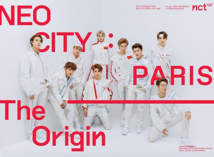 Neo City The Origin Paris NCT127