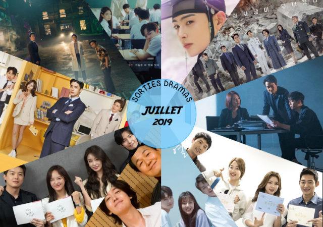 Sorties dramas Juillet 2019