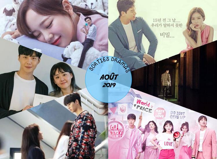 Sorties dramas Août 2019
